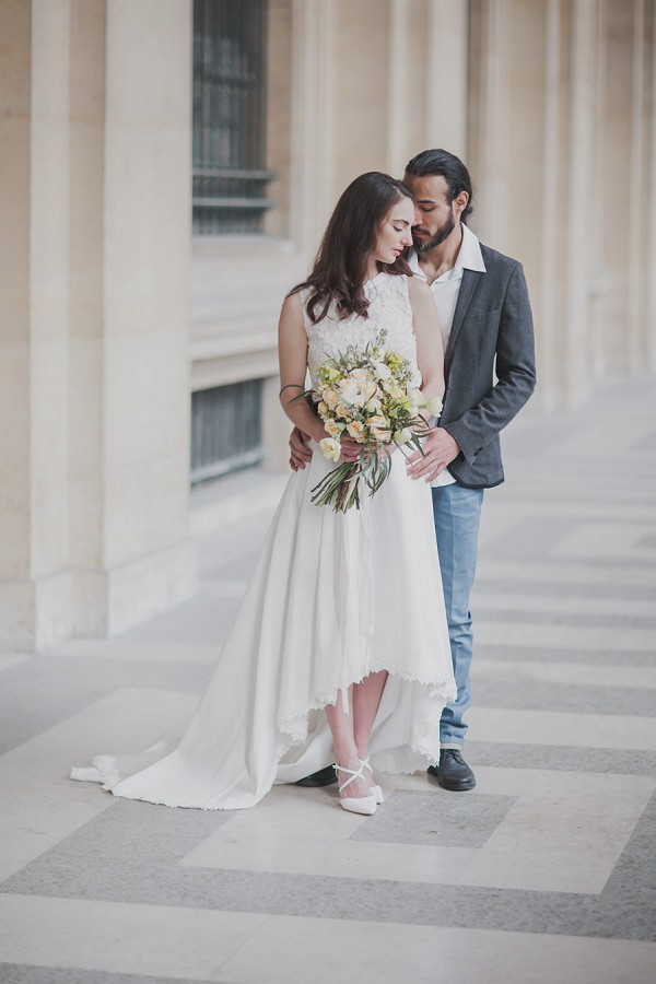 A Simple Yet Utterly Romantic Wedding