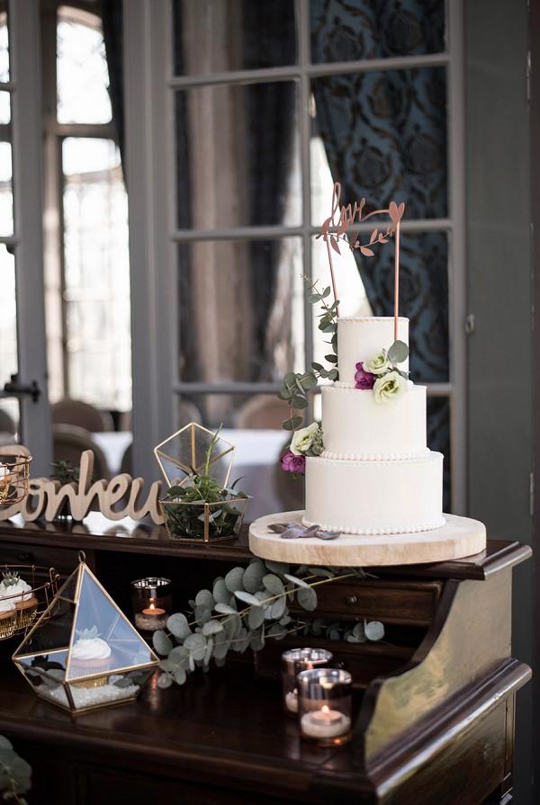 Arcake wedding cake