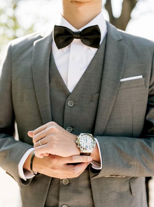 Bow tie wedding Paris