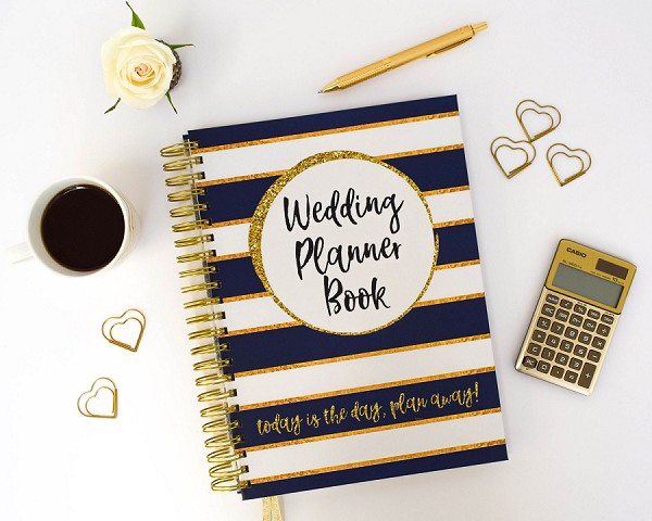 Bridal Organiser Keepsake Wedding Book