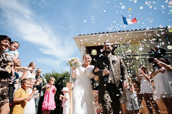 DIY French wedding