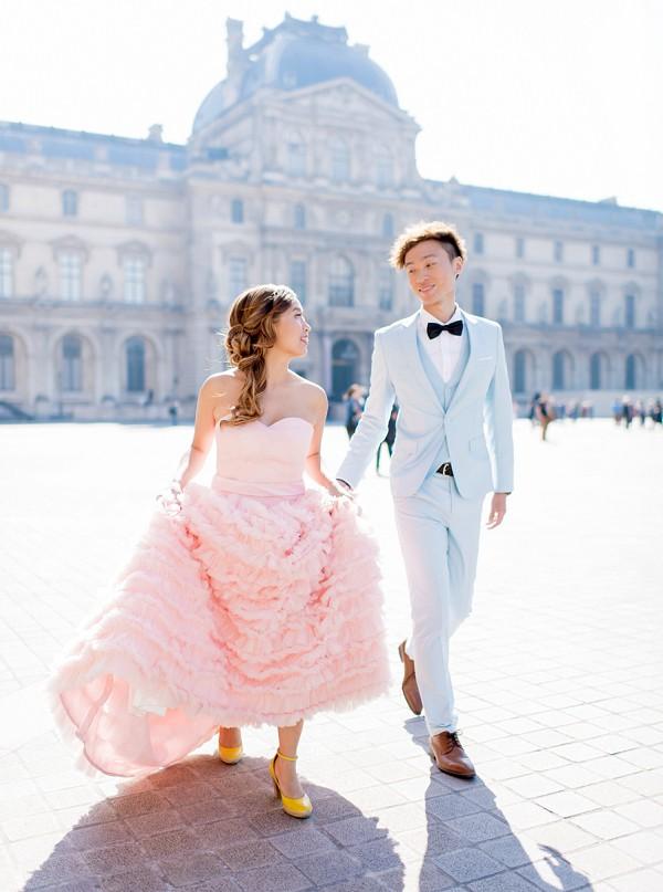 Hong Kong To Paris Destination wedding