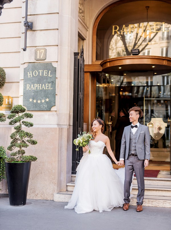 Hotel Raphael Real Wedding