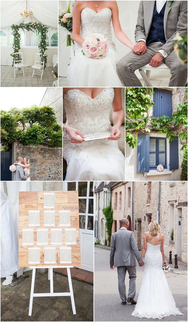 Intimate Wedding Outside of Paris Snapshot