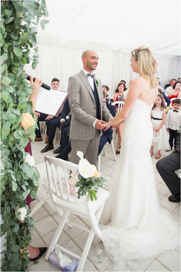 Marc and Amy's wedding day | Image by Freddy Fremond