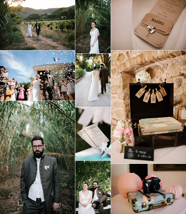 Relaxed Vintage Inspired Real Wedding Snapshot