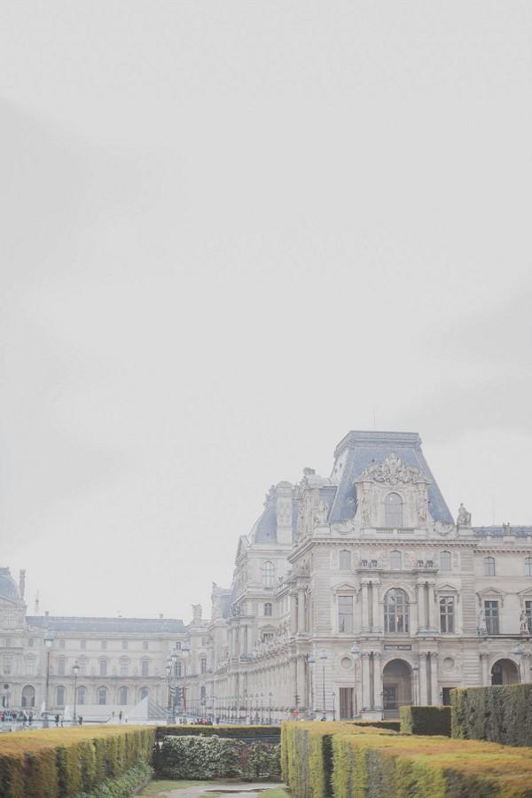 Romantic Rainy Paris