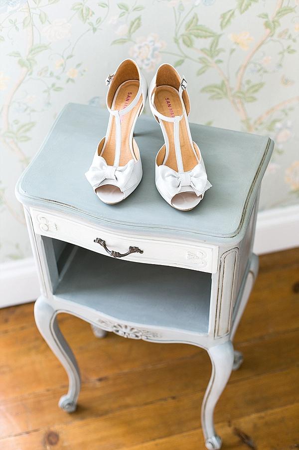 San Marina Bow Wedding Shoes