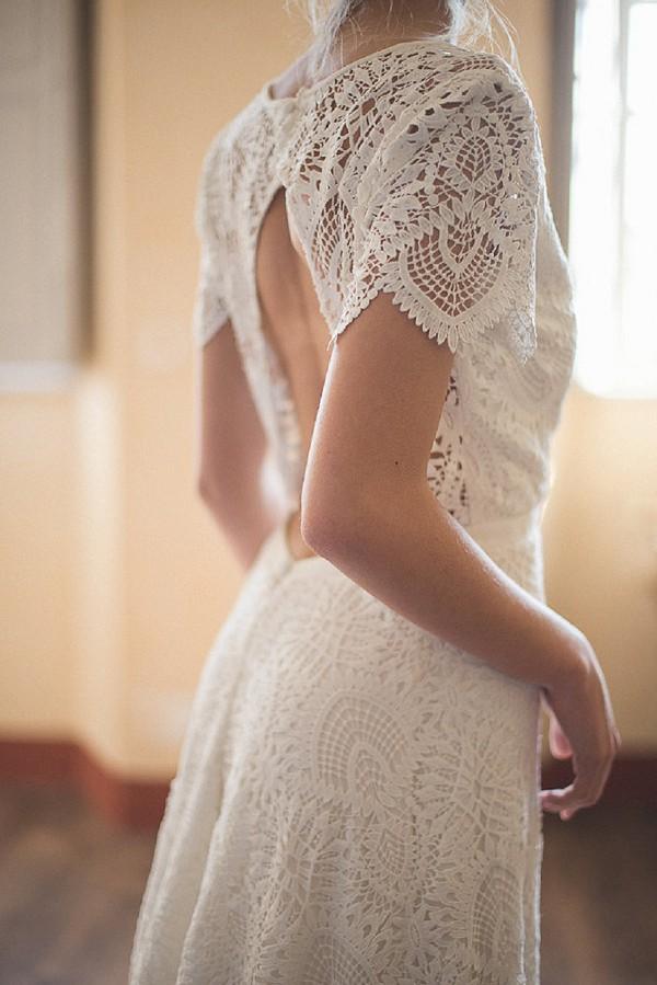 Velvetine wedding dress