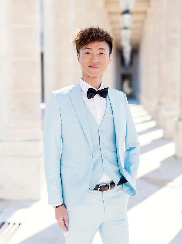 baby blue wedding suit