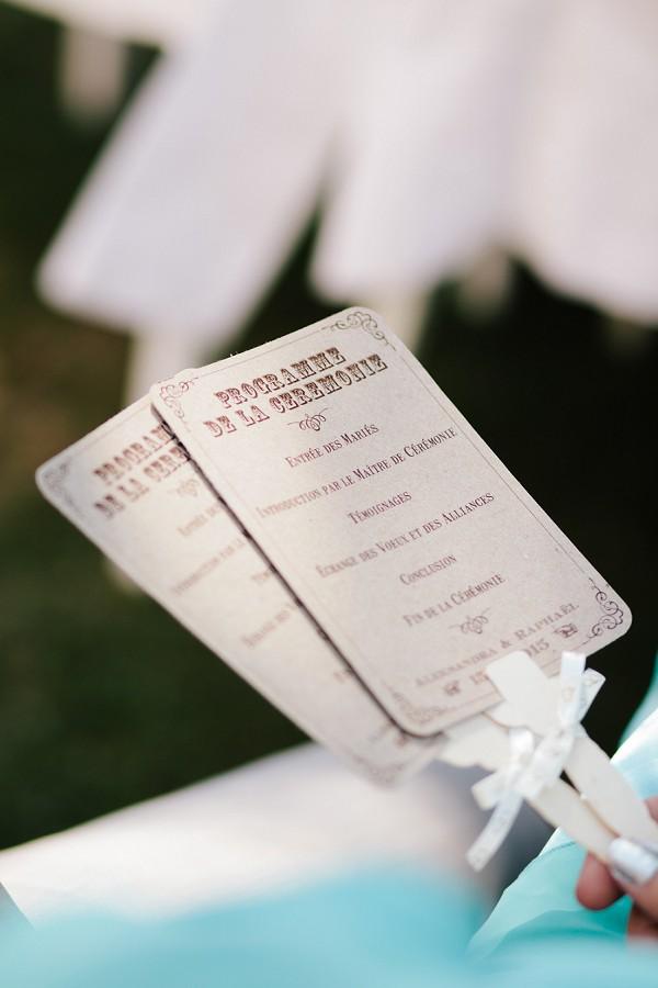 ceremony fan programmes