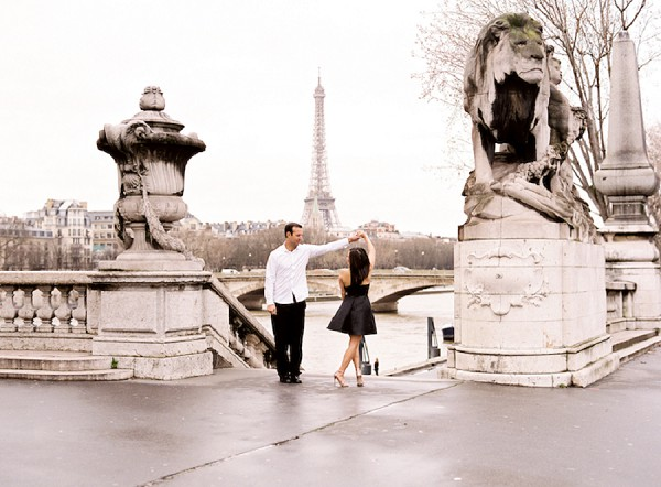 dancing in Paris