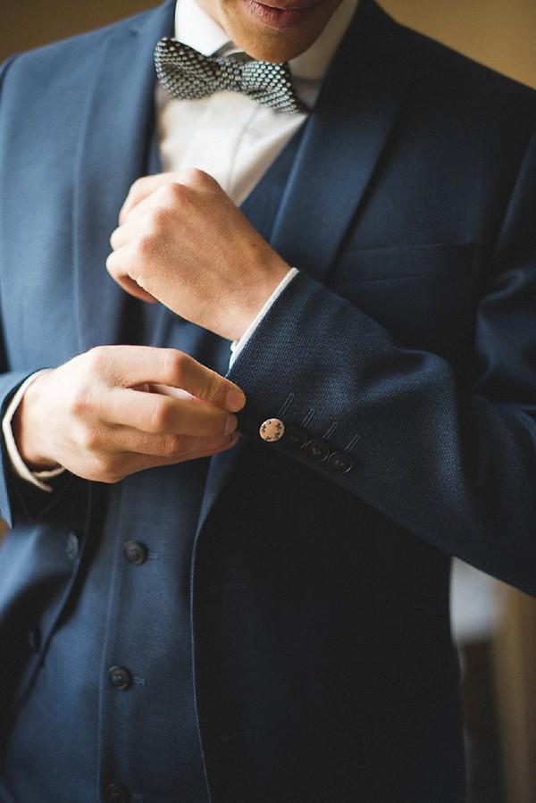dark navy suit