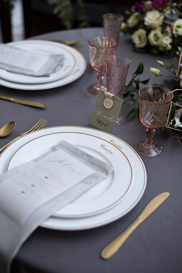 pretty wedding china