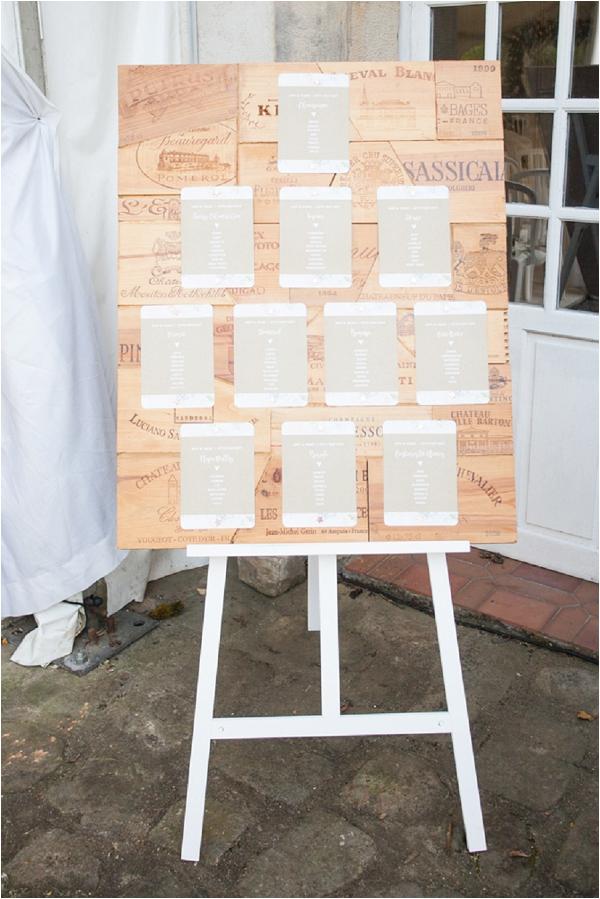 rustic wedding table plan | Image by Freddy Fremond