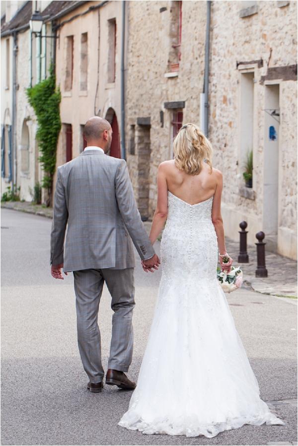 strapless destination wedding dress | Image by Freddy Fremond