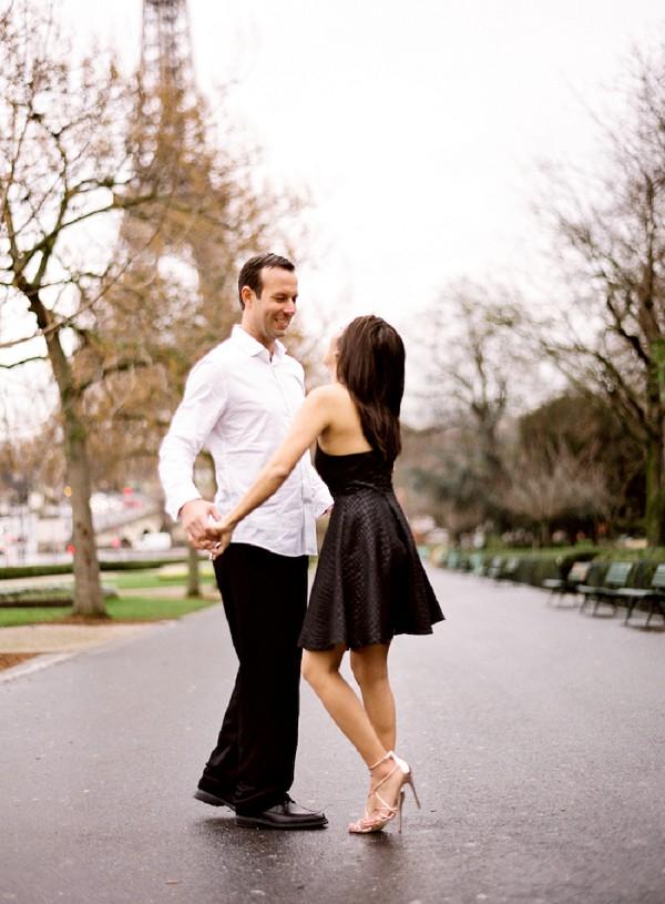 stylish heels engagement