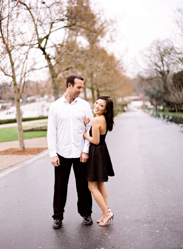 sweet couple paris