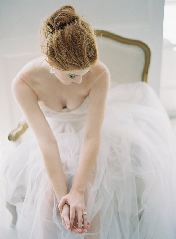 utterly romantic bridal portrait