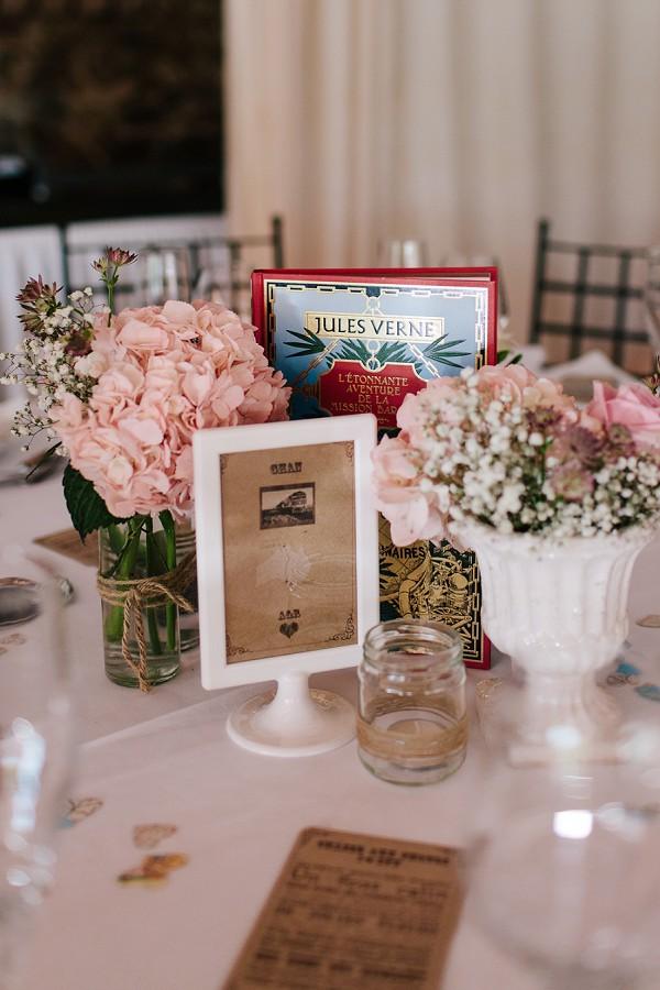 vinatge table decor