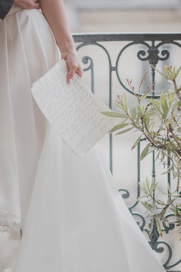 wedding vows calligraphy
