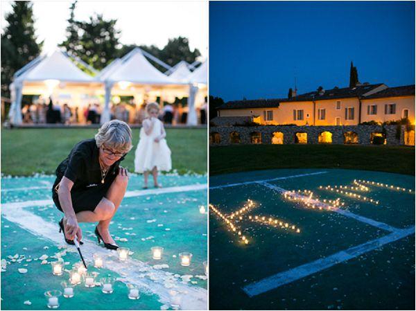 French wedding lighting ideas planning