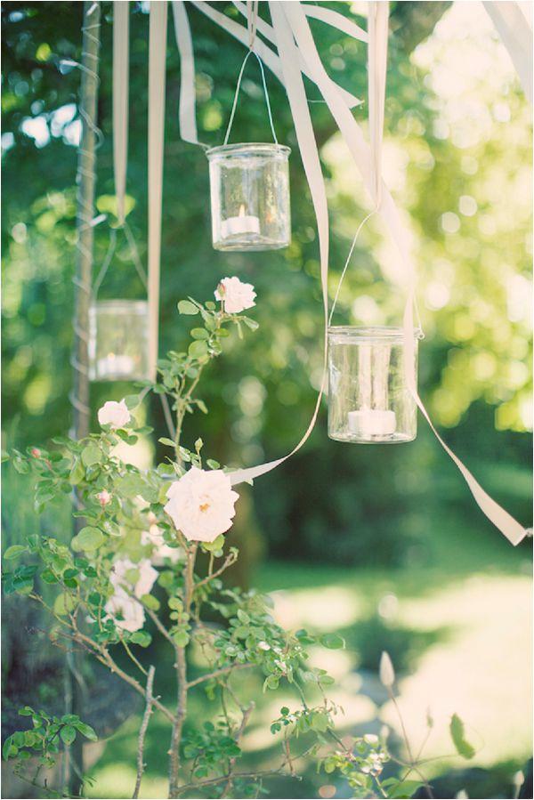 French wedding lighting ideas hanging lights