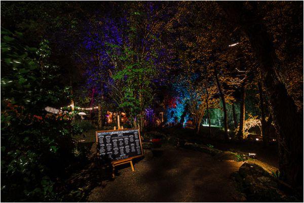 French wedding lighting ideas tree lighting