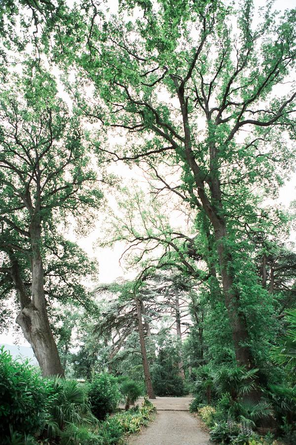 Chateau de Blomac gardens