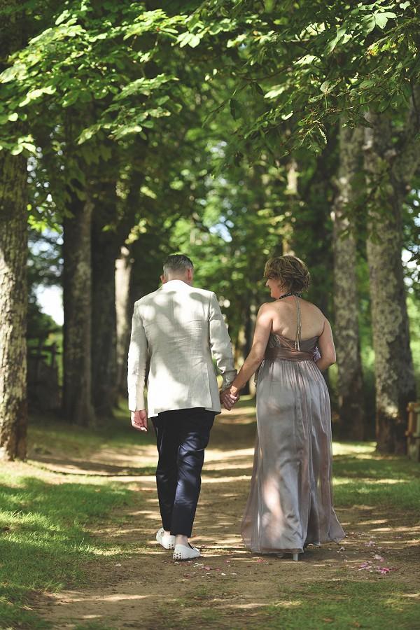 Dordogne Bride and Groom