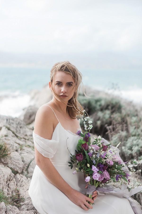 French Beach Wedding Flowers
