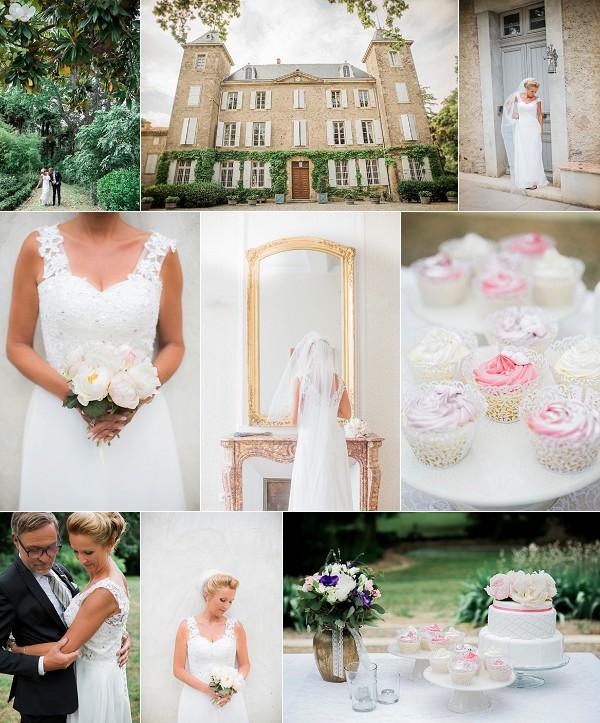 French Vineyard Wedding at Chateau de Blomac Snapshot