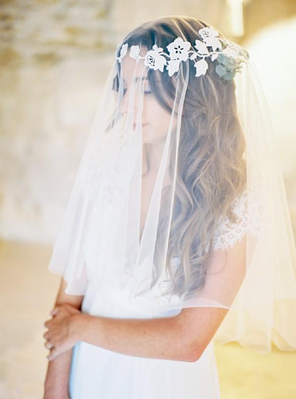 Jeanne Source wedding veil