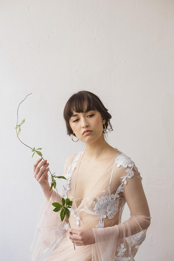 The Lace Atelier robe