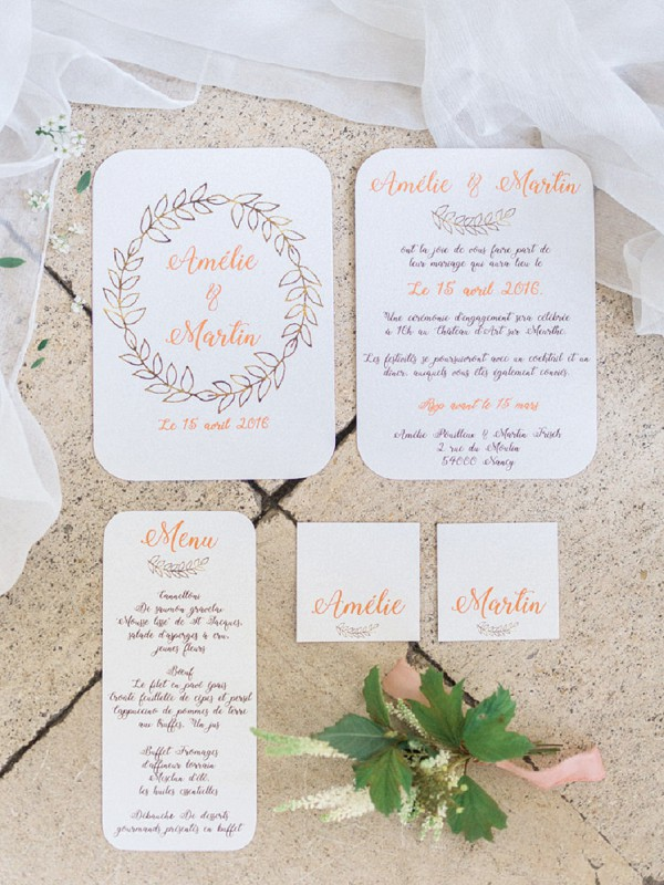 Un Chouette Event stationery
