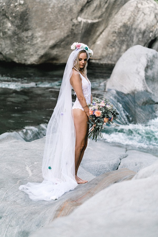 Verzasca Valley wedding shoot