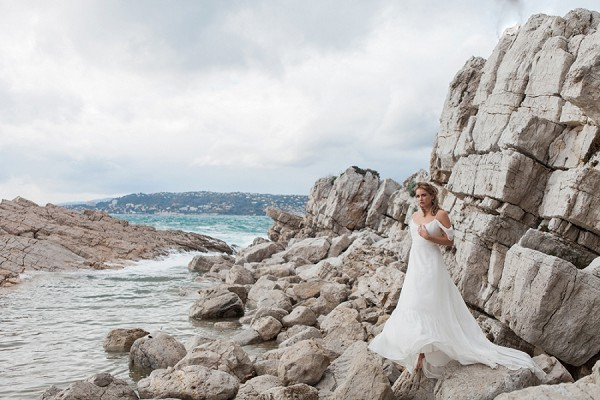 Wildly Romantic French Beach Wedding Inspiration