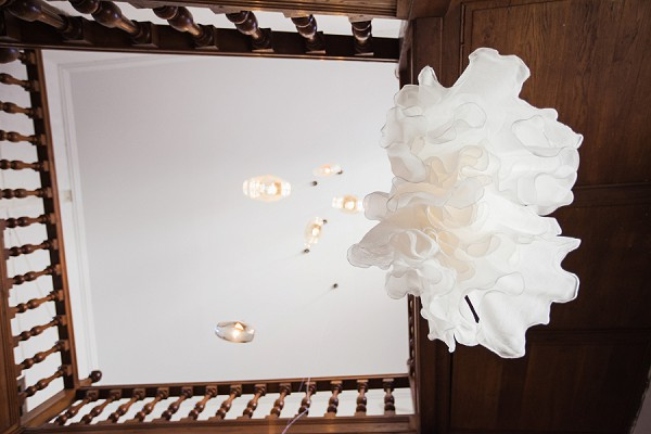 artistic wedding dress shot