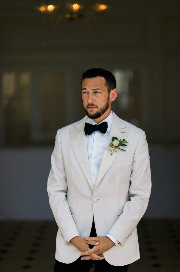 black bow tie elegance