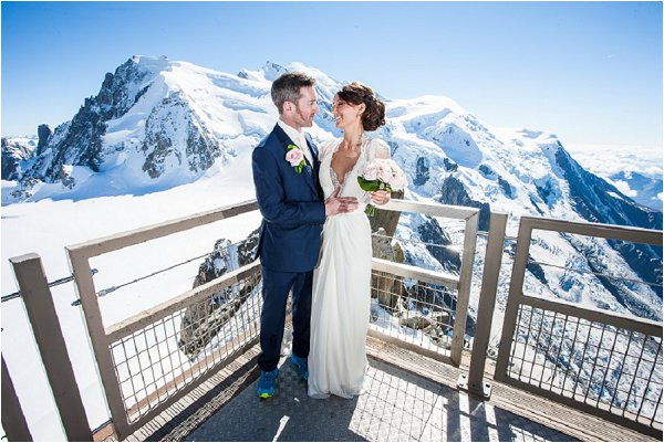 dream wedding in the alps