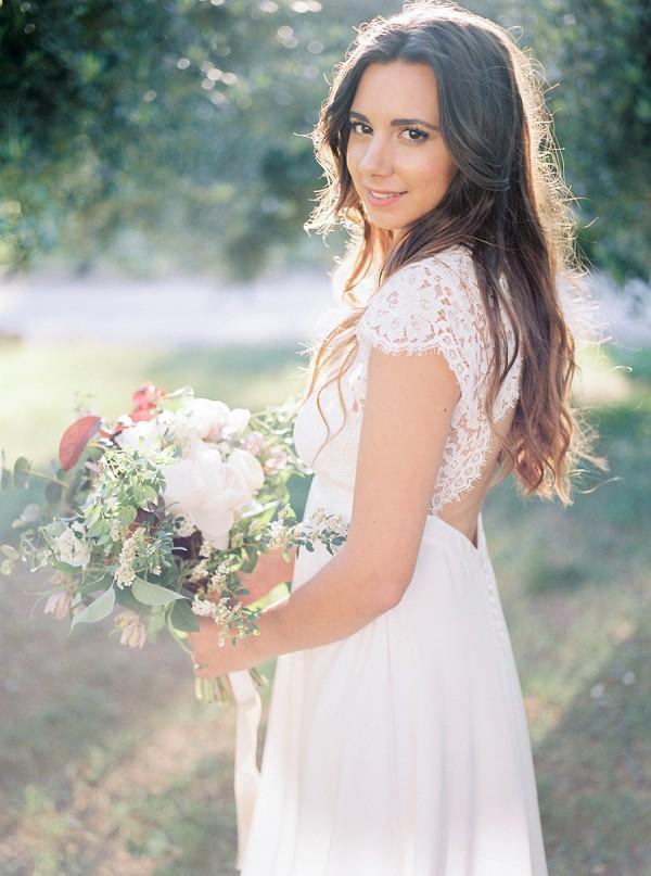 fine art bridal portrait