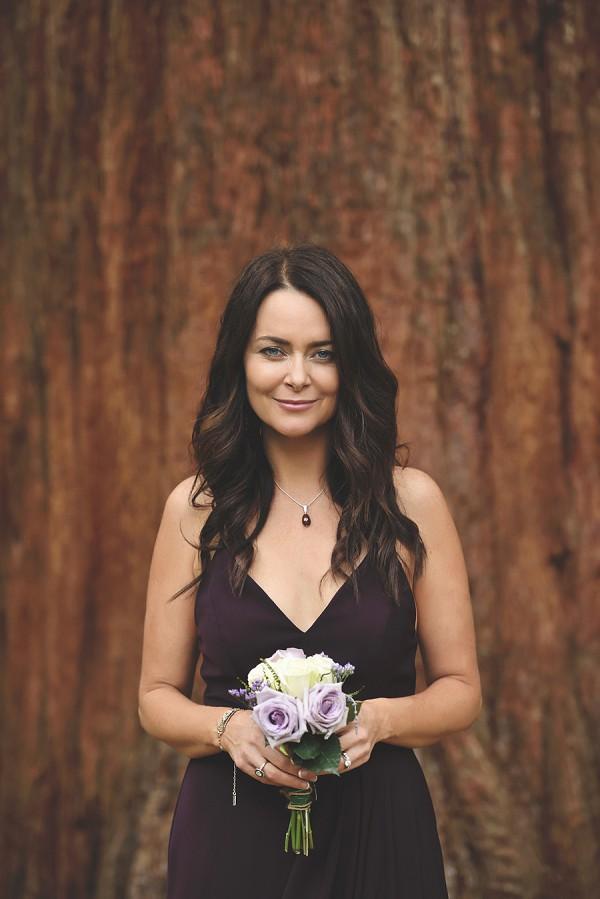 plum colour wedding theme