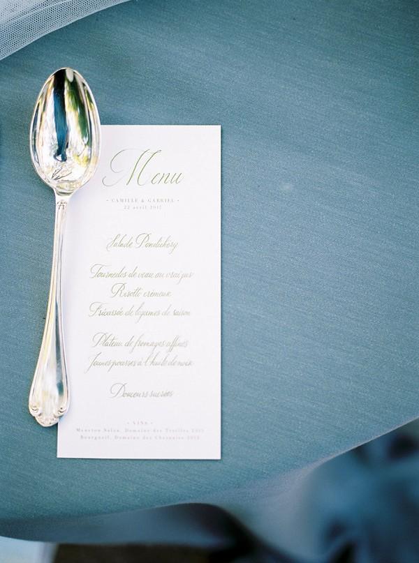 simple wedding stationery