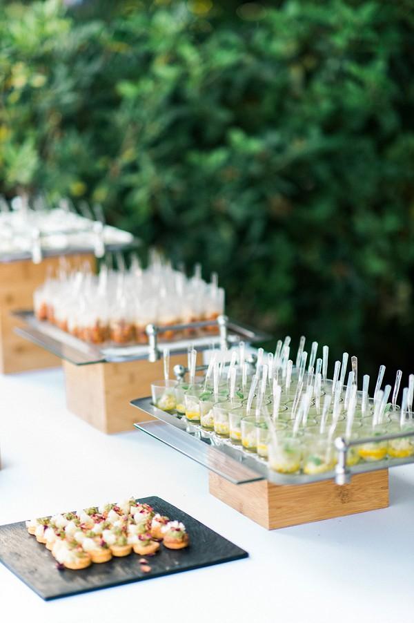 wedding canape ideas