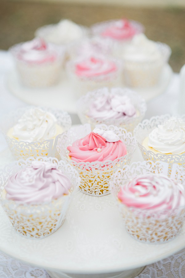 wedding day cupcakes