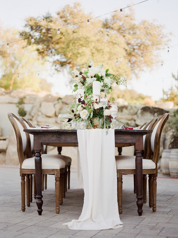 Fine Art Wedding Tablescape