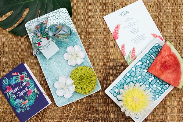 Tropical Jungle Inspired Wedding