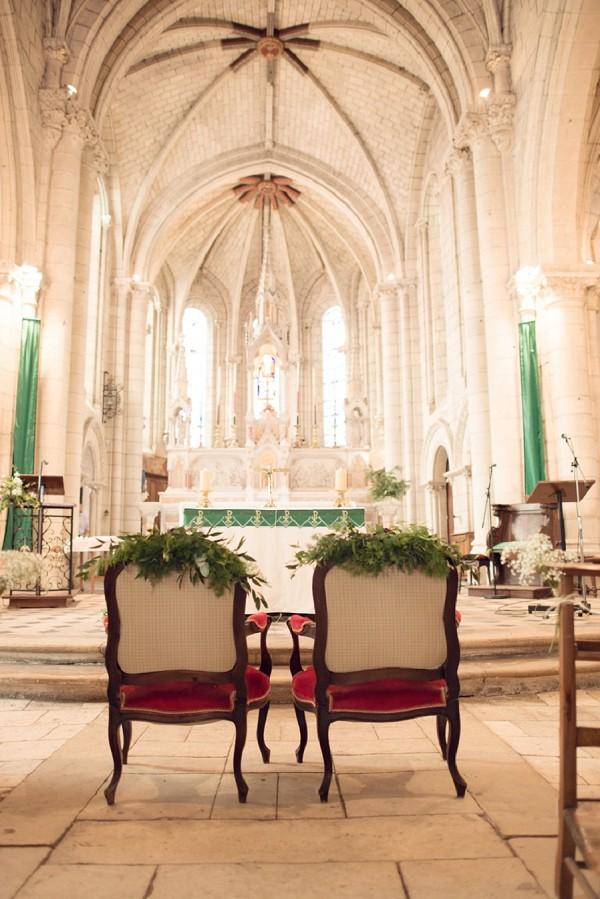 elegant french church