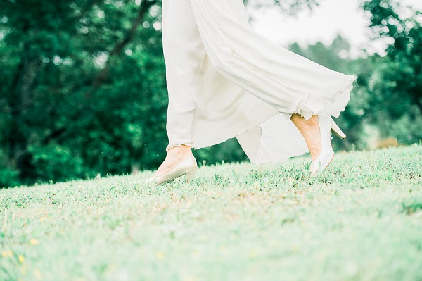 floaty wedding gown
