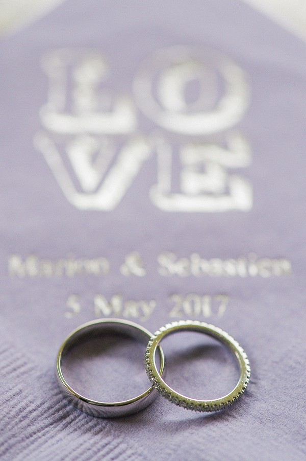 lilac wedding details